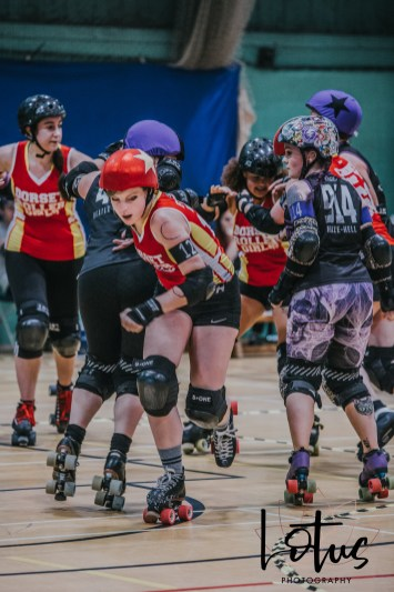 Lotus Phtotography Bournemouth Dorset Roller Girls Roller Derby Sport Photography 133