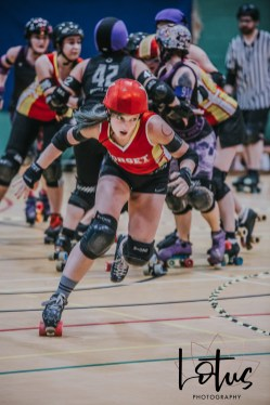 Lotus Phtotography Bournemouth Dorset Roller Girls Roller Derby Sport Photography 134