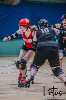 Lotus Phtotography Bournemouth Dorset Roller Girls Roller Derby Sport Photography 137