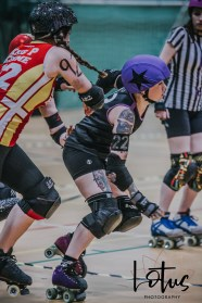 Lotus Phtotography Bournemouth Dorset Roller Girls Roller Derby Sport Photography 140