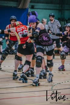 Lotus Phtotography Bournemouth Dorset Roller Girls Roller Derby Sport Photography 141