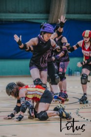 Lotus Phtotography Bournemouth Dorset Roller Girls Roller Derby Sport Photography 151