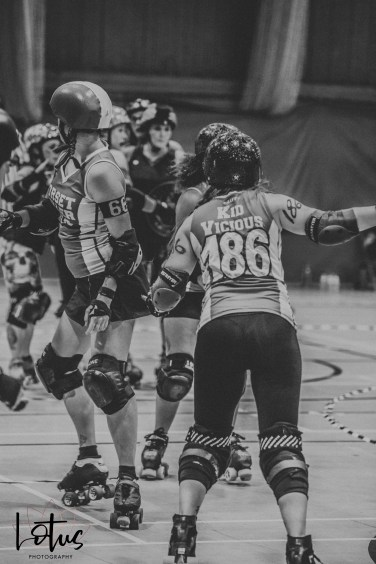 Lotus Phtotography Bournemouth Dorset Roller Girls Roller Derby Sport Photography 153-2
