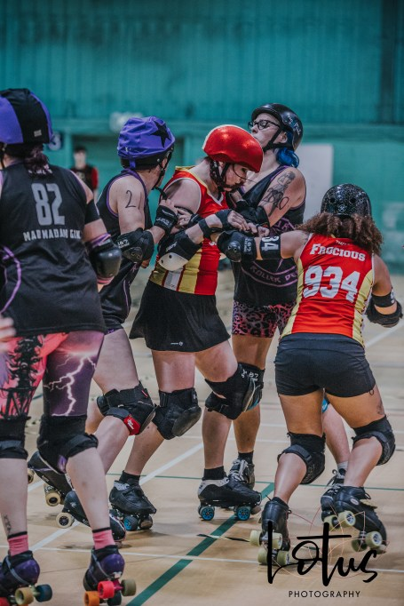 Lotus Phtotography Bournemouth Dorset Roller Girls Roller Derby Sport Photography 157