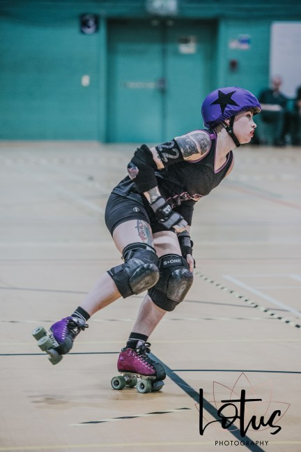Lotus Phtotography Bournemouth Dorset Roller Girls Roller Derby Sport Photography 158