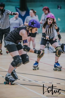 Lotus Phtotography Bournemouth Dorset Roller Girls Roller Derby Sport Photography 163