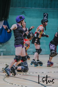 Lotus Phtotography Bournemouth Dorset Roller Girls Roller Derby Sport Photography 171