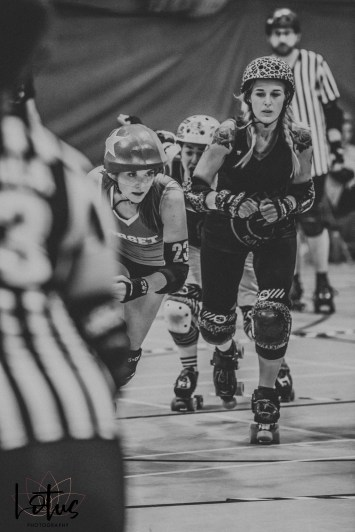 Lotus Phtotography Bournemouth Dorset Roller Girls Roller Derby Sport Photography 199-2