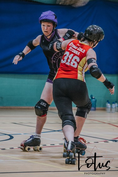 Lotus Phtotography Bournemouth Dorset Roller Girls Roller Derby Sport Photography 206