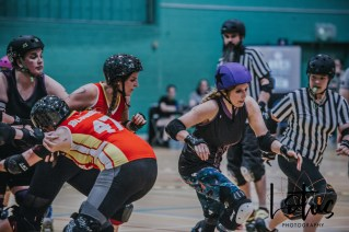Lotus Phtotography Bournemouth Dorset Roller Girls Roller Derby Sport Photography 212