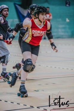 Lotus Phtotography Bournemouth Dorset Roller Girls Roller Derby Sport Photography 220
