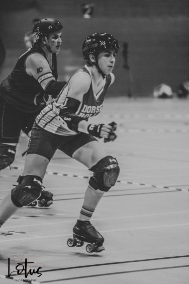Lotus Phtotography Bournemouth Dorset Roller Girls Roller Derby Sport Photography 221-2