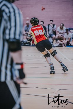 Lotus Phtotography Bournemouth Dorset Roller Girls Roller Derby Sport Photography 223