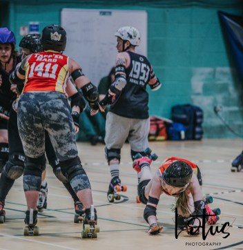 Lotus Phtotography Bournemouth Dorset Roller Girls Roller Derby Sport Photography 243