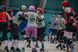 Lotus Phtotography Bournemouth Dorset Roller Girls Roller Derby Sport Photography 26