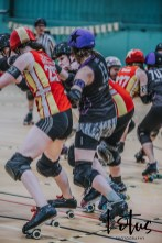 Lotus Phtotography Bournemouth Dorset Roller Girls Roller Derby Sport Photography 274