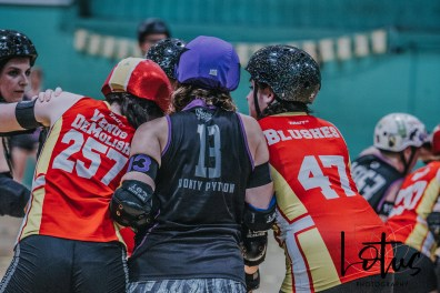 Lotus Phtotography Bournemouth Dorset Roller Girls Roller Derby Sport Photography 275