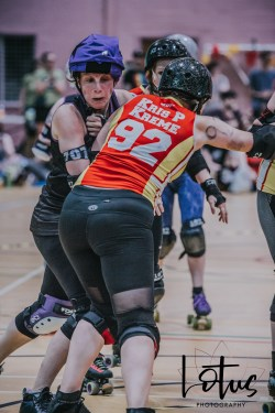 Lotus Phtotography Bournemouth Dorset Roller Girls Roller Derby Sport Photography 278