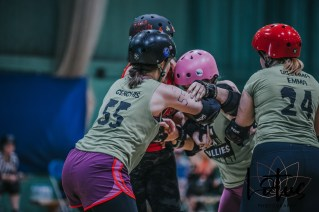 Lotus Phtotography Bournemouth Dorset Roller Girls Roller Derby Sport Photography 28