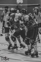 Lotus Phtotography Bournemouth Dorset Roller Girls Roller Derby Sport Photography 300-2
