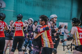 Lotus Phtotography Bournemouth Dorset Roller Girls Roller Derby Sport Photography 310