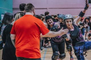 Lotus Phtotography Bournemouth Dorset Roller Girls Roller Derby Sport Photography 321