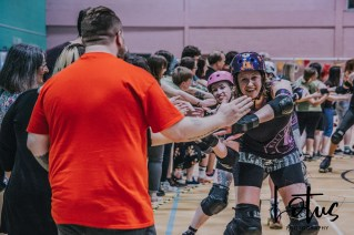 Lotus Phtotography Bournemouth Dorset Roller Girls Roller Derby Sport Photography 322