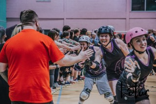 Lotus Phtotography Bournemouth Dorset Roller Girls Roller Derby Sport Photography 323