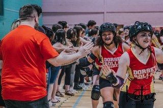 Lotus Phtotography Bournemouth Dorset Roller Girls Roller Derby Sport Photography 329