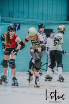 Lotus Phtotography Bournemouth Dorset Roller Girls Roller Derby Sport Photography 33