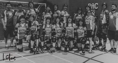 Lotus Phtotography Bournemouth Dorset Roller Girls Roller Derby Sport Photography 332-2