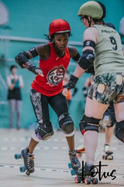 Lotus Phtotography Bournemouth Dorset Roller Girls Roller Derby Sport Photography 37