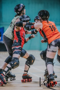 Lotus Phtotography Bournemouth Dorset Roller Girls Roller Derby Sport Photography 41
