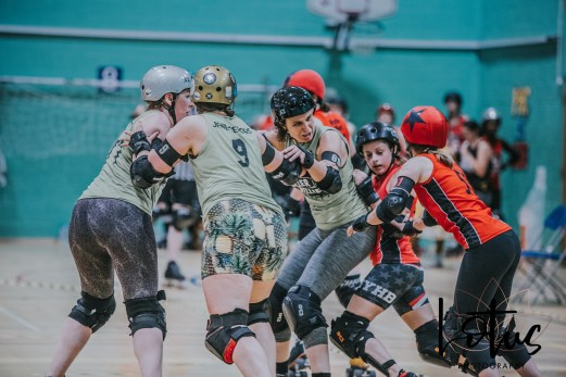 Lotus Phtotography Bournemouth Dorset Roller Girls Roller Derby Sport Photography 48