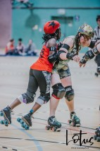 Lotus Phtotography Bournemouth Dorset Roller Girls Roller Derby Sport Photography 53