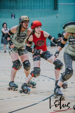 Lotus Phtotography Bournemouth Dorset Roller Girls Roller Derby Sport Photography 61
