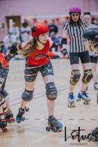 Lotus Phtotography Bournemouth Dorset Roller Girls Roller Derby Sport Photography 62