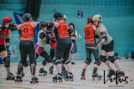 Lotus Phtotography Bournemouth Dorset Roller Girls Roller Derby Sport Photography 71