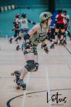 Lotus Phtotography Bournemouth Dorset Roller Girls Roller Derby Sport Photography 89