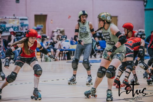 Lotus Phtotography Bournemouth Dorset Roller Girls Roller Derby Sport Photography 97