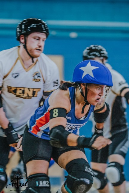 Lotus Photography UK Bournemouth British Roller Derby Championships Knobs vs Bristol 65_