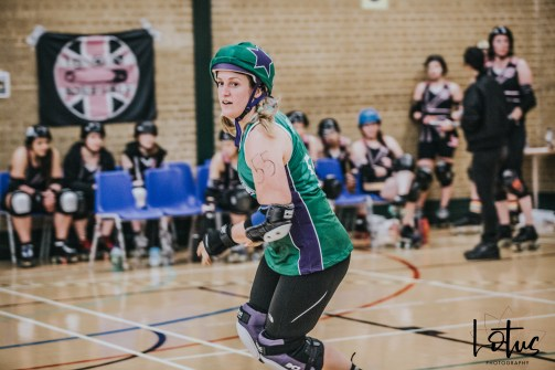 SWAT London Roller Derby Lotus Photography Bournemouth Dorset Sports Photography 114