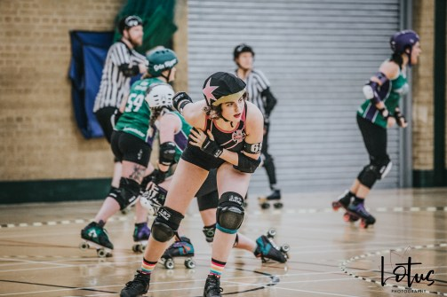 SWAT London Roller Derby Lotus Photography Bournemouth Dorset Sports Photography 125