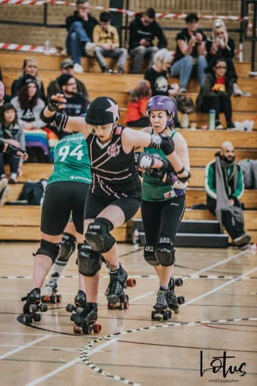 SWAT London Roller Derby Lotus Photography Bournemouth Dorset Sports Photography 134