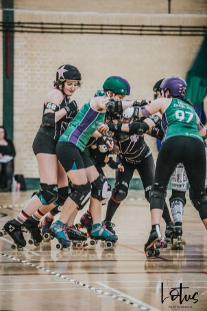 SWAT London Roller Derby Lotus Photography Bournemouth Dorset Sports Photography 138