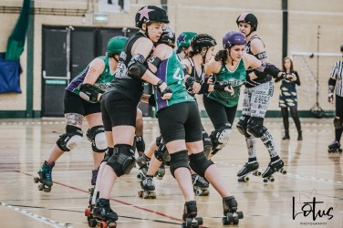 SWAT London Roller Derby Lotus Photography Bournemouth Dorset Sports Photography 143