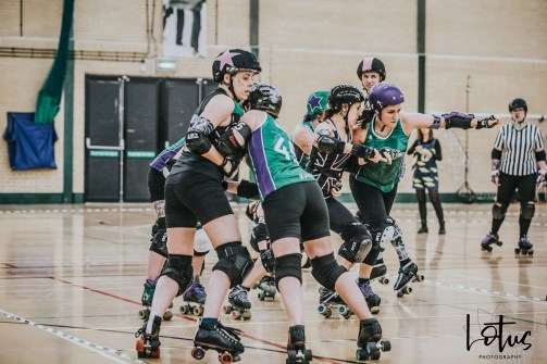 SWAT London Roller Derby Lotus Photography Bournemouth Dorset Sports Photography 144