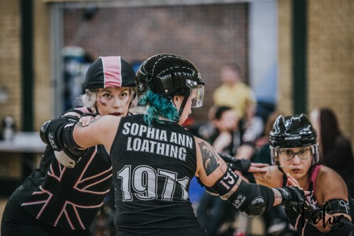 SWAT London Roller Derby Lotus Photography Bournemouth Dorset Sports Photography 15