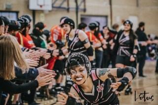 SWAT London Roller Derby Lotus Photography Bournemouth Dorset Sports Photography 157