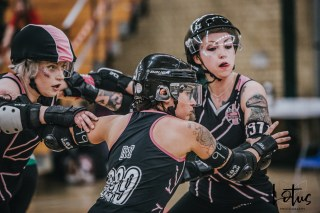 SWAT London Roller Derby Lotus Photography Bournemouth Dorset Sports Photography 40